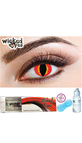 Wicked Eyes Daily Contact Lenses Celtic Venom