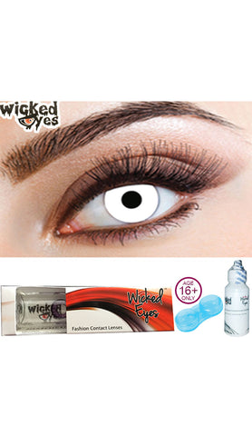 Wicked Eyes Daily Zombie Contact Lenses