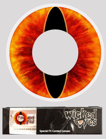 Wicked Eyes Daily Contact Lenses Lava