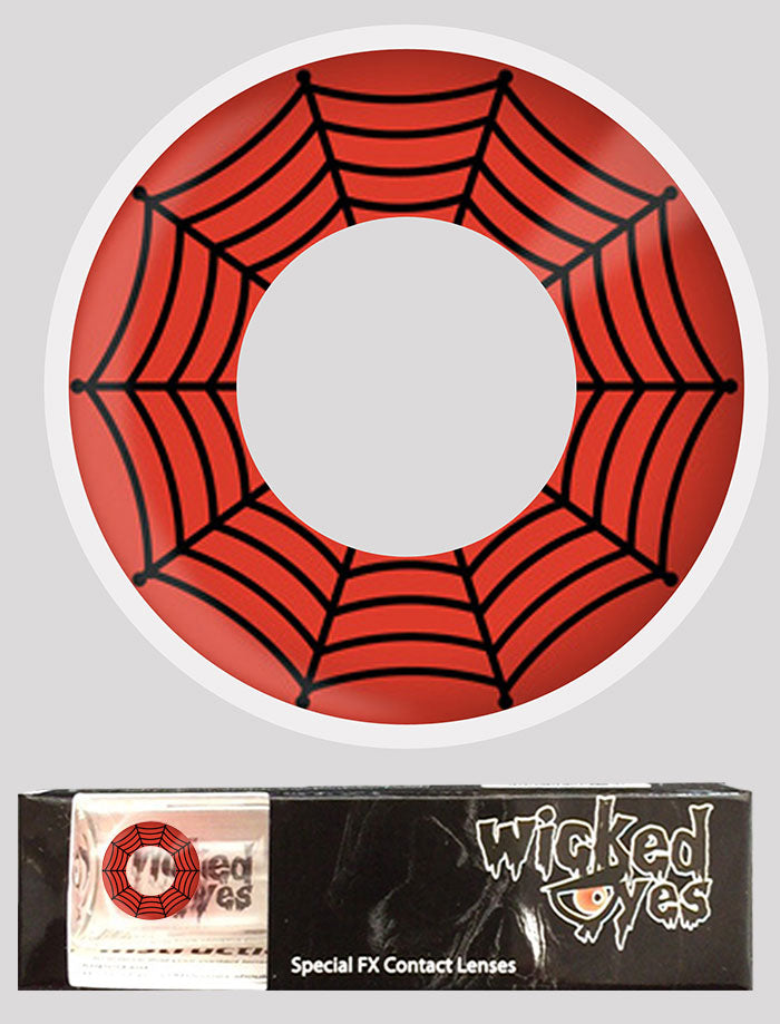 Wicked Eyes Daily Contact Lenses Web