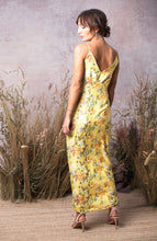 Load image into Gallery viewer, Twist Front Floral Cami Dress