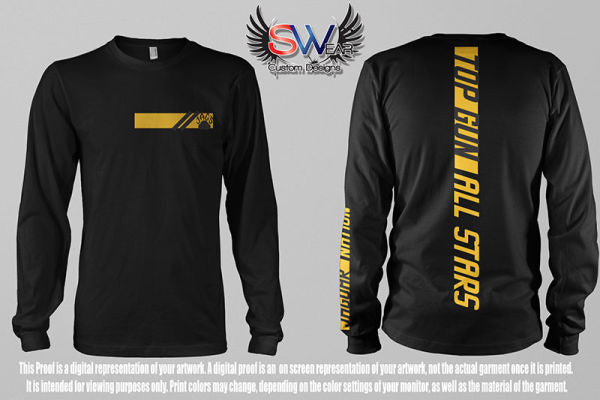 Top Gun Vertical Long Sleeve
