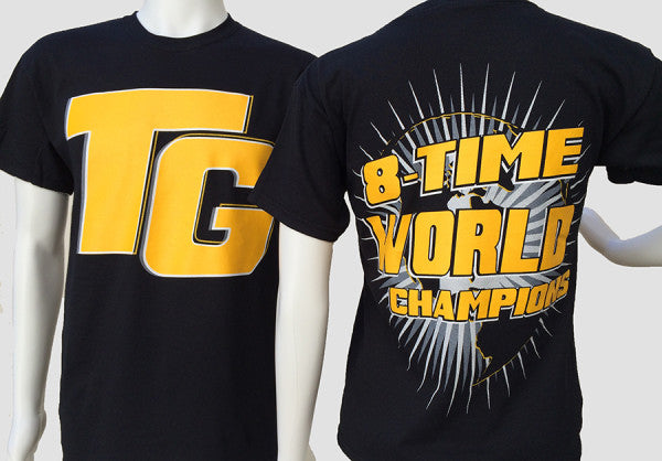8 Time World Champions T-Shirt - TGProShop