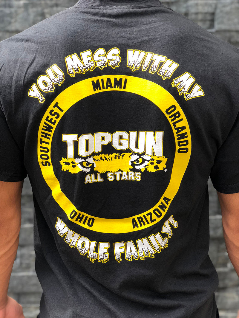 5 locations FAMILY T-Shirt - TGProShop