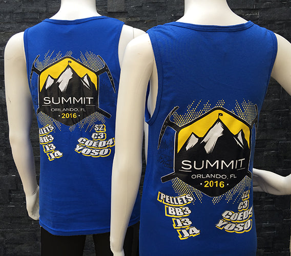 2016 SUMMIT tank top