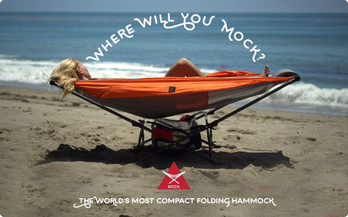 Mock ONE: The World's Only Compact Folding Hammock