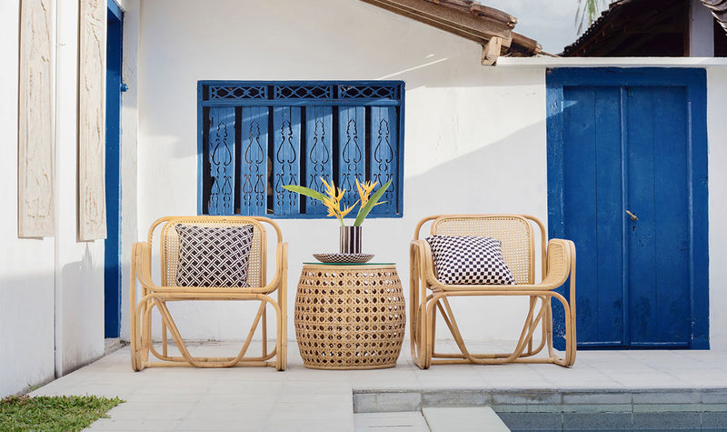 Rattan Outdoor Sectional Set Gallery