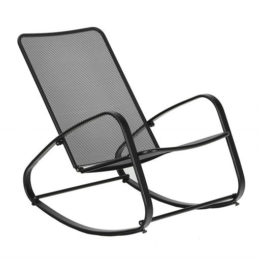 Sophia and William Padded Steel Rocking Chair