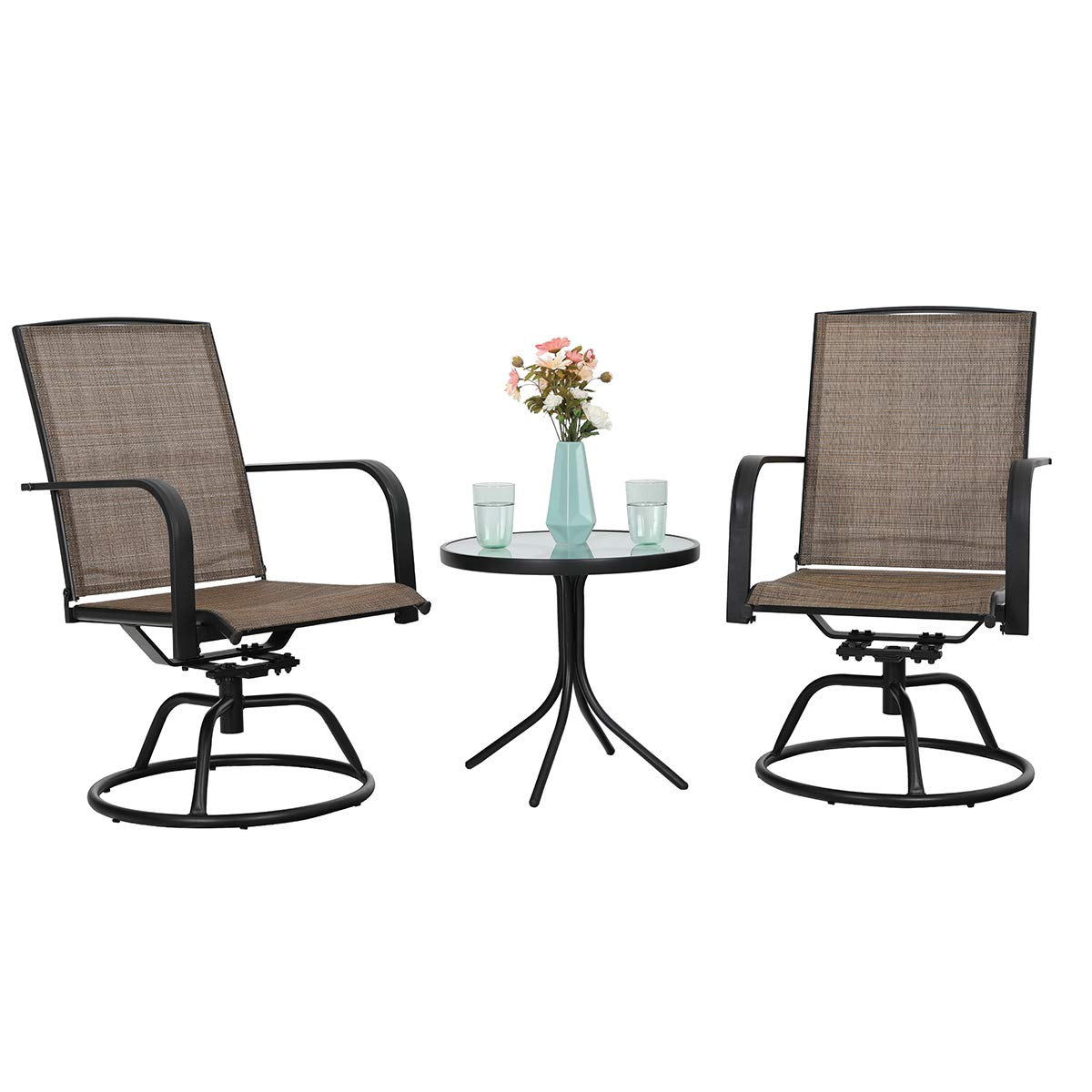 Phi Villa Swivel Chairs Set