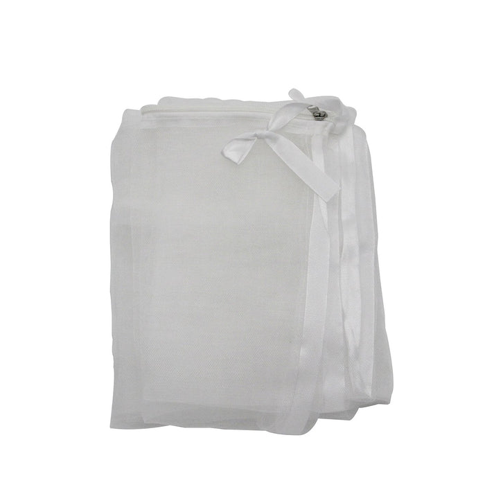 PHI VILLA Plant Bag Netting - Insect/Bird Netting - Plant Cover with Zipper Closure