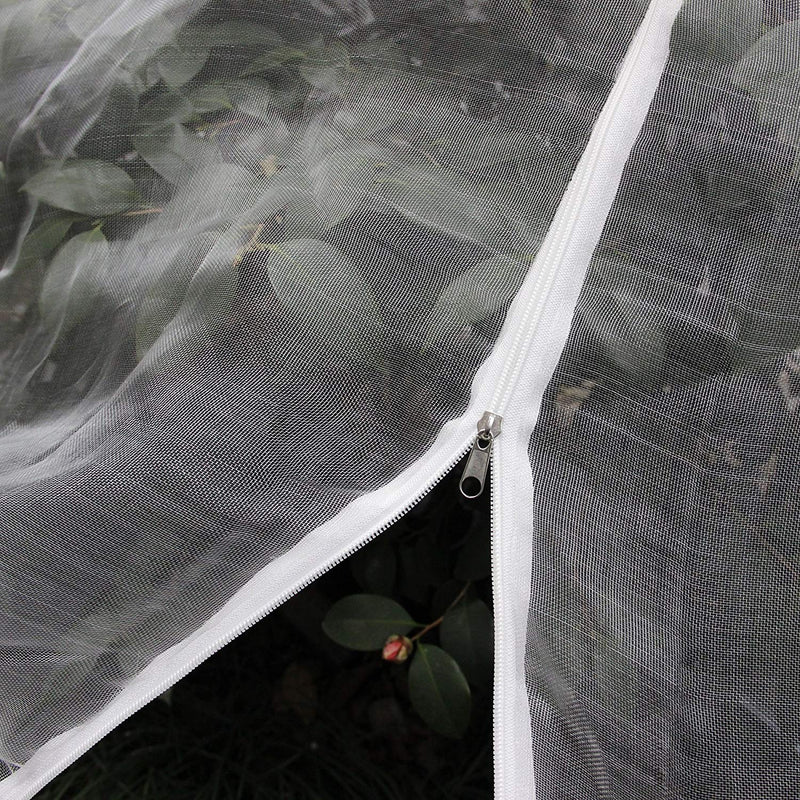 PHI VILLA Tree Netting Cover with Zipper Closures