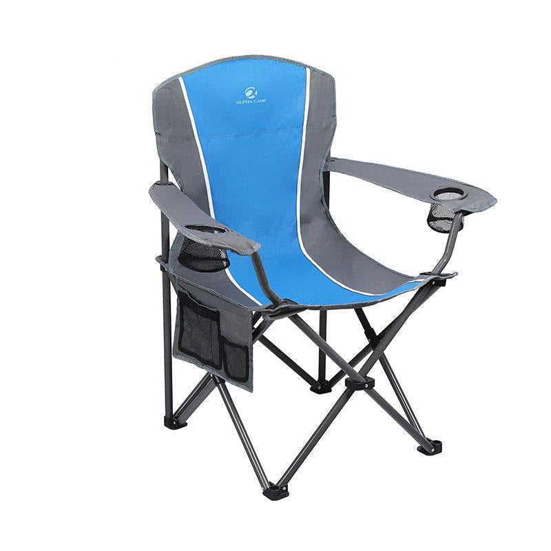 Alpha Camp Oversized Folding Arm Camping Chair