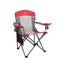 Alpha Camp Oversized Mesh Camping Chair Support 350lbs