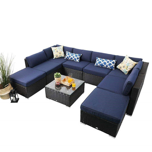 Surprising Patio Sofa And Sectional Phi Villa Patio Furniture Online Short Links Chair Design For Home Short Linksinfo