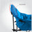 Alpha Camp Blue Folding Oversized Padded Moon Chair