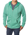 Independent Trading Unisex Special Blend Raglan Hooded Full-Zip Sweatshirt