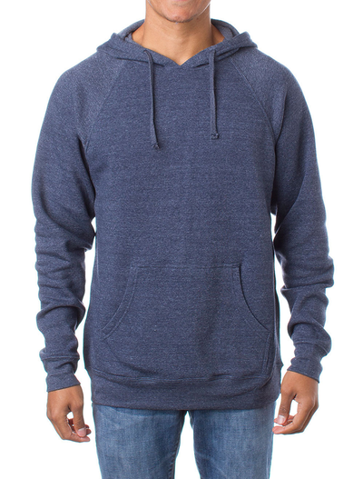 Independent Trading UNISEX SPECIAL BLEND RAGLAN HOODED PULLOVER
