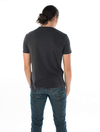Eco-friendly Men's Hemp T-Shirt in Black by ONNO available at Monkey in a Dryer.