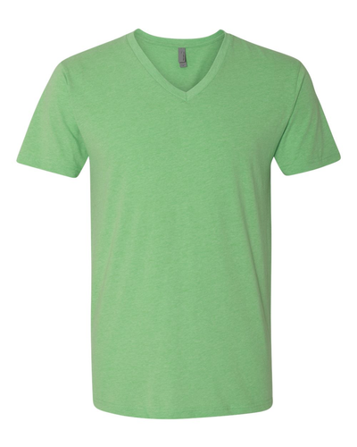 Next Level 60/40 Cotton/Poly CVC V-Neck T-Shirt