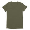 Eco-friendly Women's Hemp T-Shirt in Army Green by ONNO available at Monkey in a Dryer.