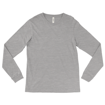 Bella + Canvas Unisex 50/25/25 Triblend Long Sleeve Jersey T-Shirt