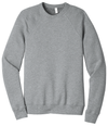 Bella + Canvas Unisex 50/50 Sponge Fleece Raglan Sweatshirt