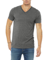Bella + Canvas Unisex Triblend Short Sleeve V-Neck Tee