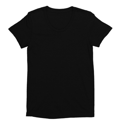Eco-friendly Women's Hemp T-Shirt in Black by ONNO available at Monkey in a Dryer.