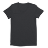 Eco-friendly Women's Hemp T-Shirt in Charcoal by ONNO available at Monkey in a Dryer.