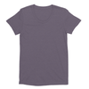 Eco-friendly Women's Hemp T-Shirt in Dirty Purple by ONNO available at Monkey in a Dryer.