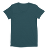 Eco-friendly Women's Hemp T-Shirt in Emerald Green by ONNO available at Monkey in a Dryer.