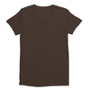 Eco-friendly Women's Hemp T-Shirt in Espresso Brown by ONNO available at Monkey in a Dryer.