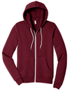 Bella + Canvas Unisex 50/50 Sponge Fleece Full-Zip Hoodie