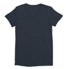 Eco-friendly Women's Hemp T-Shirt in Navy Blue by ONNO available at Monkey in a Dryer.