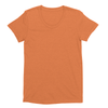 Eco-friendly Women's Hemp T-Shirt in Orange by ONNO available at Monkey in a Dryer.