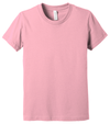 Bella + Canvas Youth Unisex 100% cotton Jersey Short Sleeve Tee