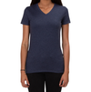 ALLMADE WOMEN'S TRI-BLEND V-NECK Rebel Blue T-SHIRT