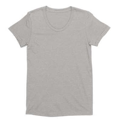 Eco-friendly Women's Hemp T-Shirt in Warm Heather Grey by ONNO available at Monkey in a Dryer.