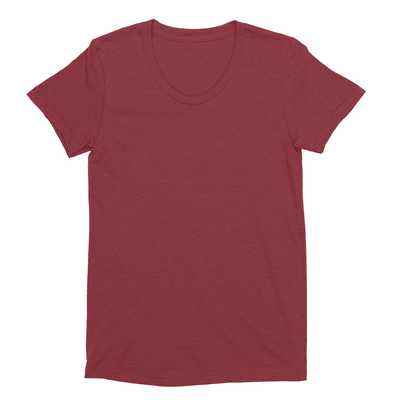 Eco-friendly Women's Hemp T-Shirt in Wine by ONNO available at Monkey in a Dryer.