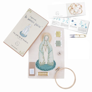Kit para bordar Virgen de Fátima