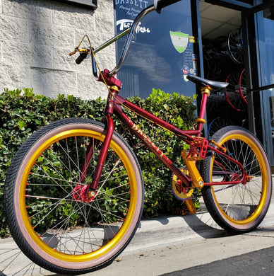 Bassett BMX Red Swooper 24