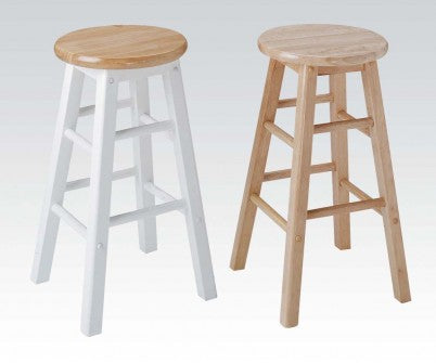 PALMETTO ROUND SEAT BAR STOOL NATURAL