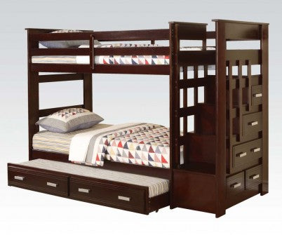 ALLEN TOWN TWIN BUNKBED & TRUNDLE