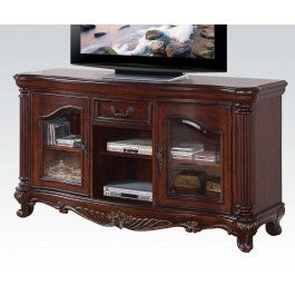 Classical  Cherry Brown TV Cabinet