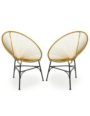 Cesta Gold Chairs-Outdoor-Furniture Walk UK