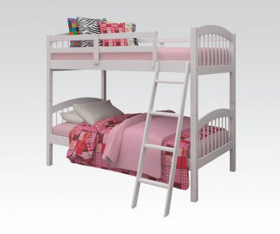 MANVILLE WHITE TWIN BUNKBED