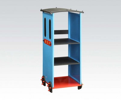 TOBI BLUE TRAIN BOOKCASE