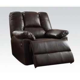Dark Brown Satisfaction Power Recliner