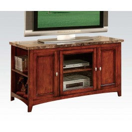Faux Marbel Cherry TV Cabinet