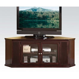 Triangle Expresso Brown Corner TV Stand